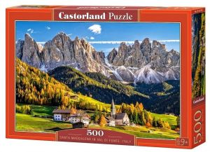 Puzzle Castorland 500 dílků - Santa Maddalena in Val di Funes  Itálie  52738