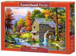 Puzzle Castorland 500 dílků - Starý mlýn   52691