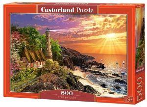 Puzzle Castorland 500 dílků - západ slunce   52615
