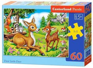 Puzzle Castorland 60 dílků - Jeleni  - 066049