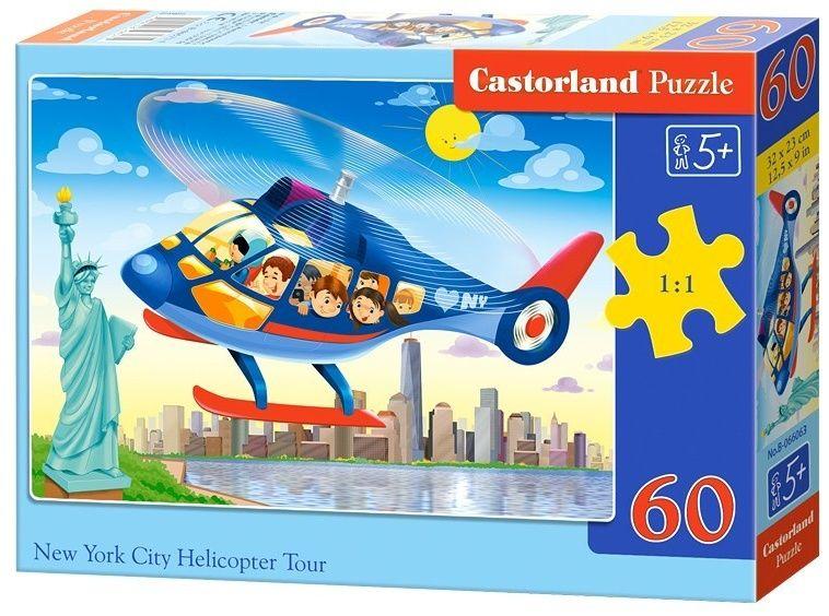 Puzzle Castorland 60 dílků - Výlet helikoptérou nad New Yorkem - 066063