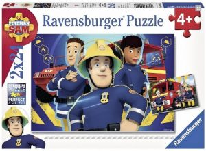 Puzzle Ravensburger  2x24 dílků Požárník Sam  090426