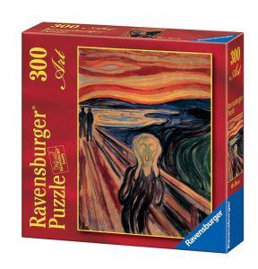 Puzzle Ravensburger 300 dílků - Munch - Výkřik   140046