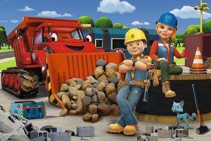 Puzzle Trefl 60 dílků - Bořek stavitel - Bořek a Wendy - Trefl 17300