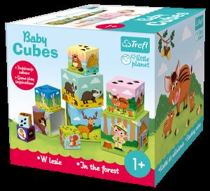 Trefl Baby Cubes puzzle - v lese   60664