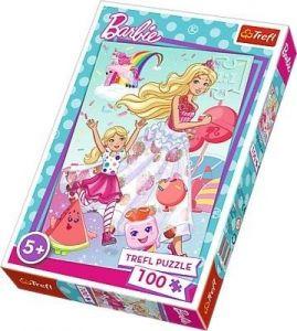 Trefl Puzzle 100 dílků - svět Barbie -  16314