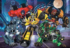 Trefl Puzzle 100 dílků - Transformers - skupina autobotů - 16315