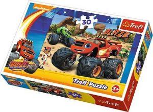 Trefl puzzle  30 dílků  - Blaze - v akci  - 18222