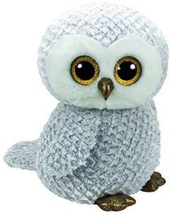TY Beanie Boos - Owlette -  bílá sova  36840  - 42 cm plyšák
