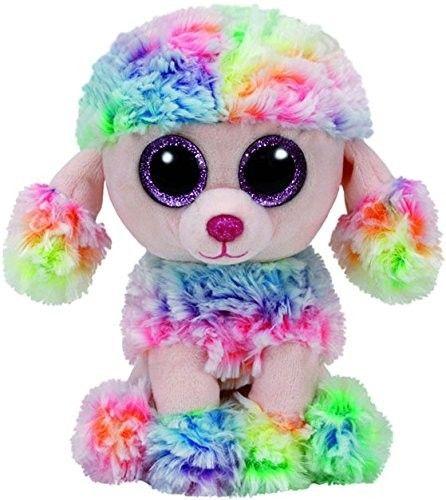 TY Beanie Boos - Poofie - duhový pudlík 37223 - 15 cm plyšák
