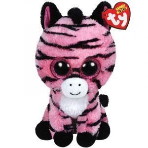 TY Beanie Boos - růžová zebra  37035  - 24 cm plyšák