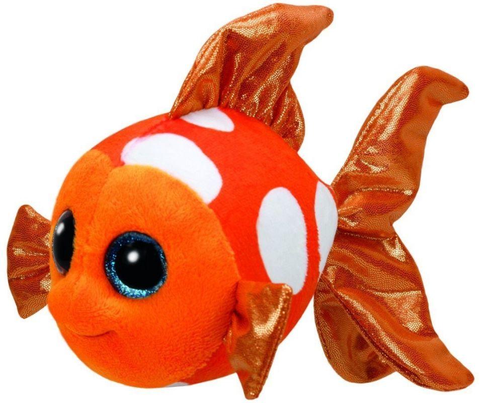 TY Beanie Boos - Sami - oranžová rybka 37176 - 15 cm plyšák