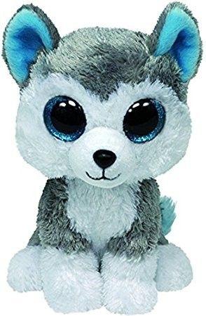 TY Beanie Boos - Slush - ( Husky ) pejsek 36902 - 24 cm plyšák TY Inc. ( Meteor )