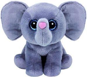 TY Beanie Boos - Whopper - šedý slon   90230  - 24 cm plyšák