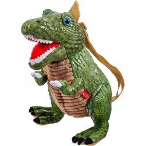 BEPPE - batoh  dinosaurus - Tyrannosaurus zelený 35 cm