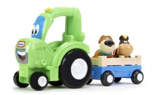 Little Tikes Handle Haulers - traktor s vlečkou a zvířátky