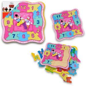 Playme - dřěvěné dětské výukové hodiny  Minnie  Mouse