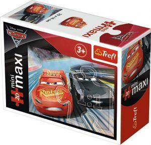 TREFL 20 dílků mini-MAXI - CARS - Auta 3 21013