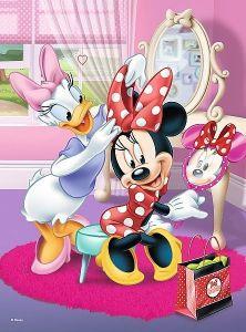 TREFL 20 dílků mini-MAXI - Minnie Mouse 21020