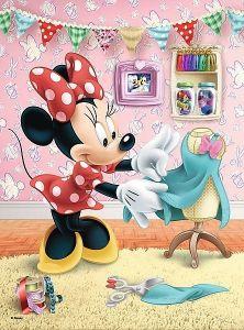 TREFL 20 dílků mini-MAXI - Minnie Mouse 21022