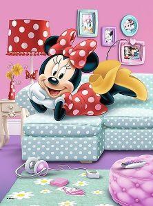 TREFL 20 dílků mini-MAXI - Minnie Mouse 21023