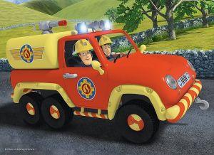 TREFL 20 dílků mini-MAXI - Požárník Sam 21005
