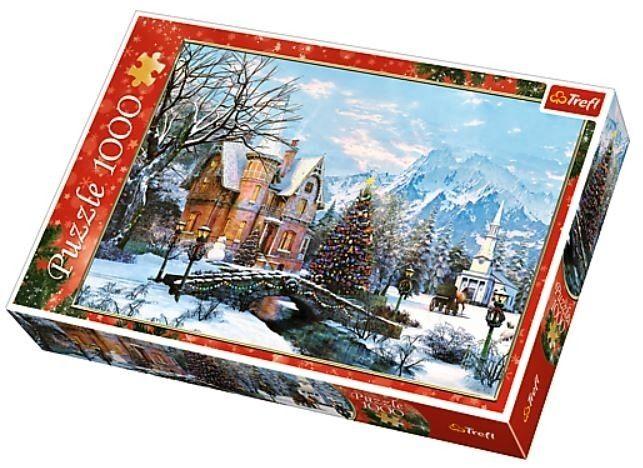 TREFL Puzzle 1000 dílků Zimní krajina 10439