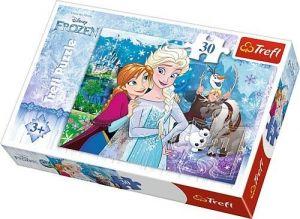 Trefl puzzle  30 dílků  - Frozen  - 18225