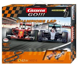 Carrera GO !!!  Champions Lap   Závodní dráha  62428