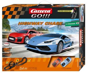 Carrera GO !!!  Higway  Chase   Závodní dráha  62430