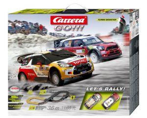 Carrera GO !!! Let's Rally!   Závodní dráha  62433
