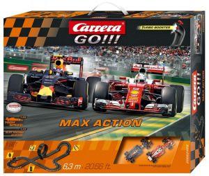 Carrera GO !!!  Max Action   Závodní dráha  62429