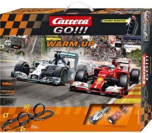 Carrera GO !!!  Warm Up   Závodní dráha  62363