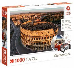 Clementoni  puzzle 1000 dílků Virtual Reality- Řím  39403