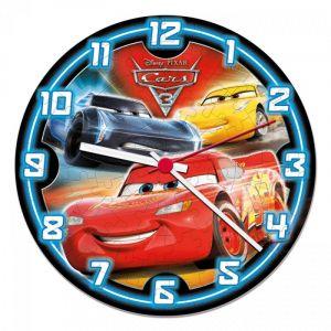 CLEMENTONI Puzzle hodiny CARS - Auta 3   96 dílků  23029