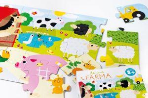 CzuCzu Puzzle Farma 20 dílků