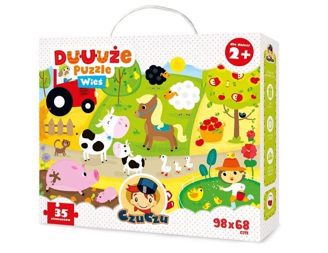 CzuCzu Puzzle Farma 35 dílků