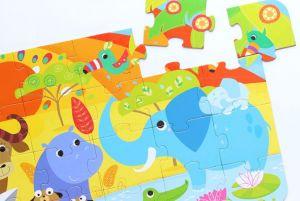 CzuCzu Puzzle Safari 40 dílků