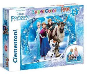 Podlahové puzzle Clementoni 40  dílků MEGA  - Frozen 25447