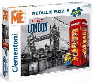 Puzzle Clementoni 1000 dílků - Mimoni - metalic   39412