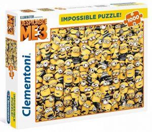 Puzzle Clementoni 1000 dílků - Nekoneční Mimoni   39408