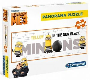 Puzzle Clementoni 1000 dílků  panorama - Mimoni - Já padouch  3    39409