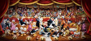 Puzzle Clementoni 13200 dílků -  Disney orchestr - 38010