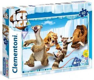Puzzle Clementoni - 60 dílků  - Doba Ledová  26968