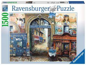 puzzle Ravensburger  1500 dílků  pasáž v Paříži  162413