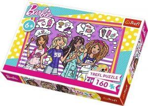 Puzzle Trefl 160 dílků - Barbie - Buď snílek  15343