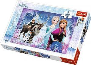Puzzle Trefl 160 dílků -  Frozen - Ledové království  -   Trefl 15344