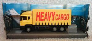 TEAMA - kamión Scania  1:87  - žlutá  barva - (heavy)