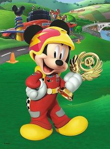 TREFL 20 dílků mini-MAXI - Mickey Mouse - závodníci   21026