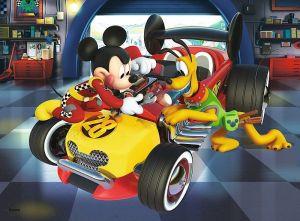 TREFL 20 dílků mini-MAXI - Mickey Mouse - závodníci   21025